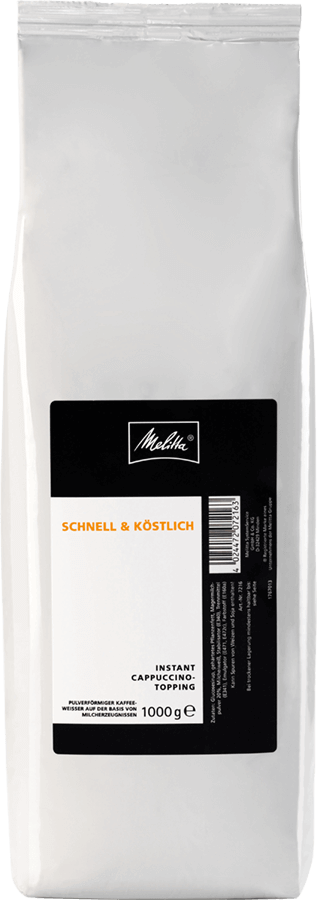 Melitta® Instant Cappuccino Topping